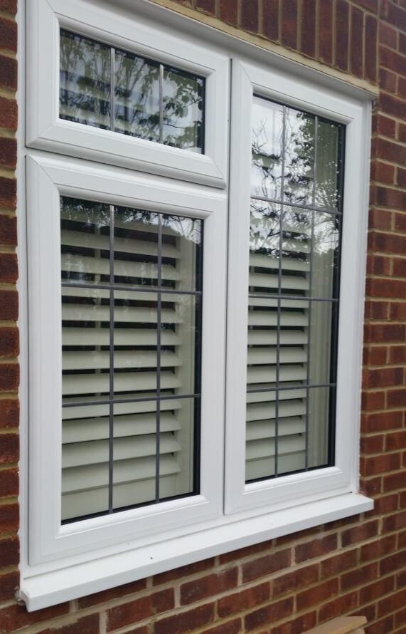 PVC Windows Grey Bruce Homes