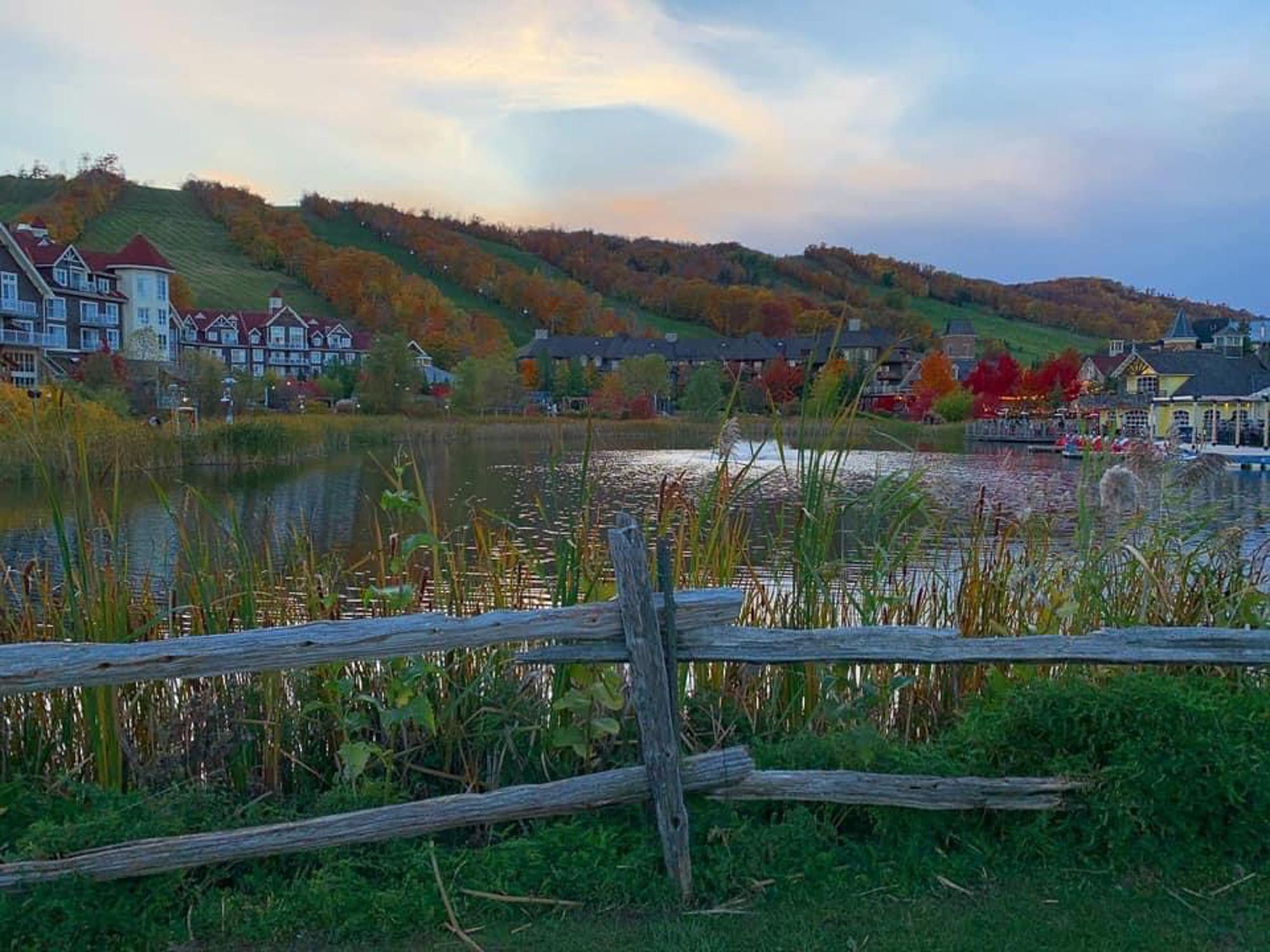 Blue Mountain Village (Fall) Blue Mountain Real Estate - Tina B
