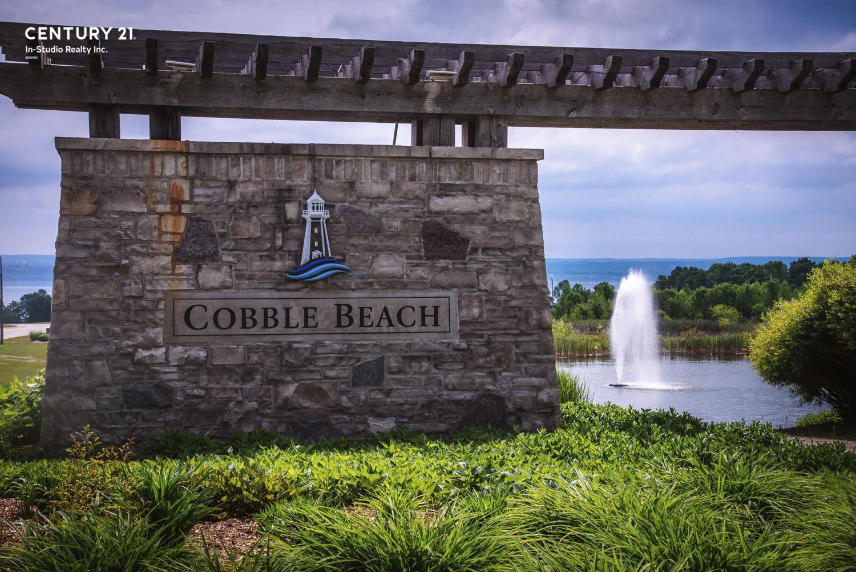 Cobble Beach Entrance