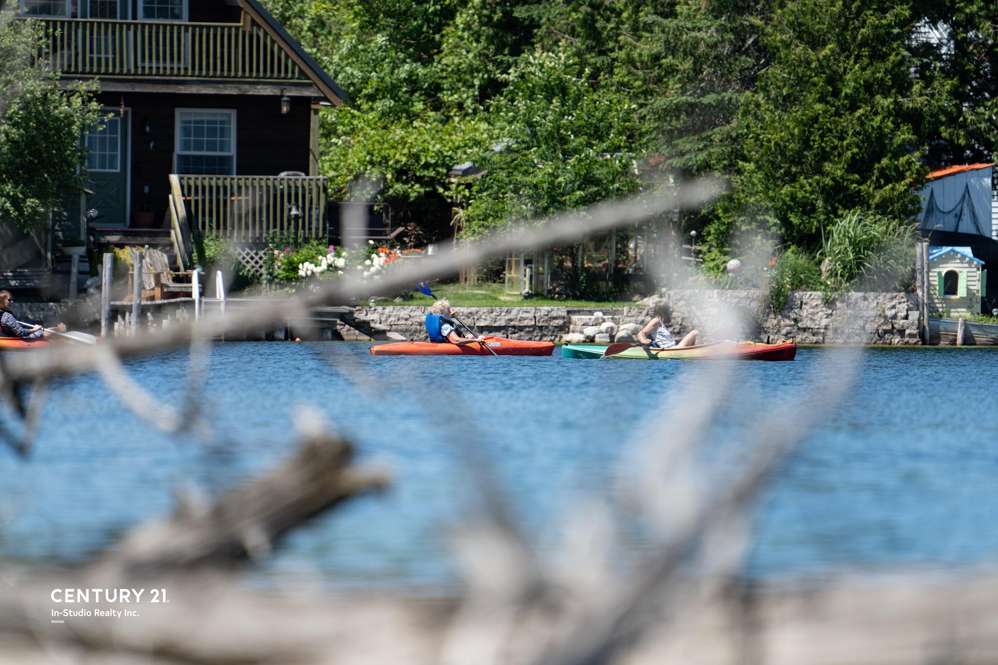 Chatsworth Real Estate, Kayaking-Grey-Bruce