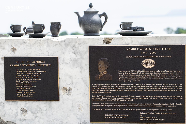 Kemble Women's Lookout, Georgian Bluffs