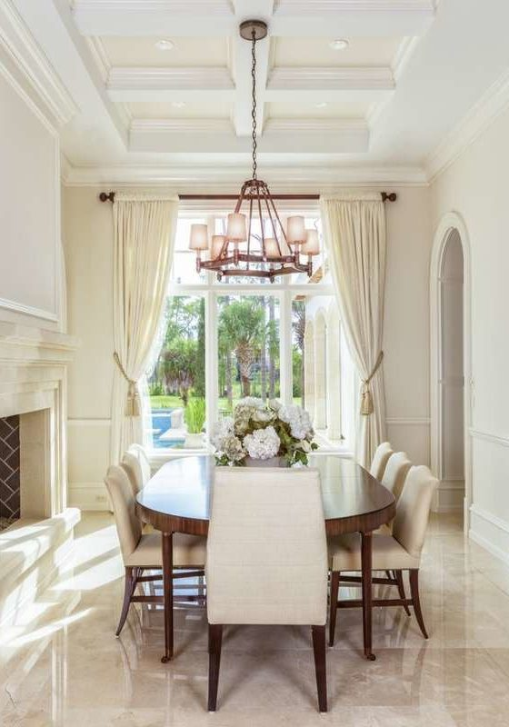 Coffered Ceiling Southampton Real Estate
