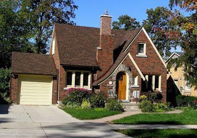 English Cottage House Style Grey Bruce Real Estate