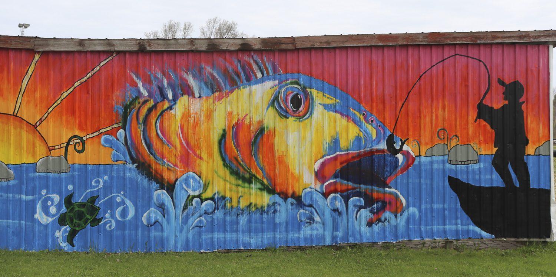 Paisley Real Estate (Fish Art) - Stephanie Tuck (1)